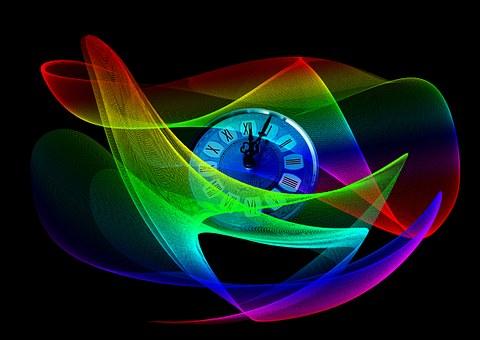 Clock, Wave, Lines, Sylvester