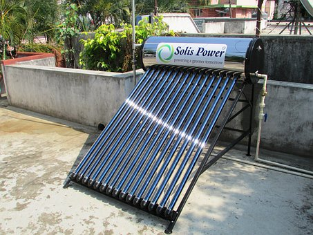 Solar Water Heater, Solar, Water, Heater