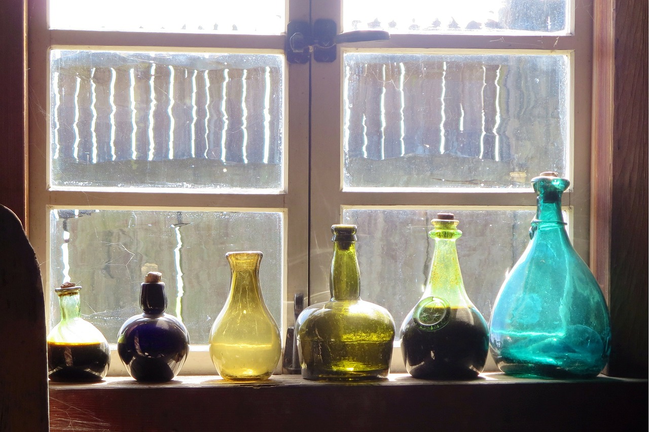 Bottles Windows Old - Free photo on Pixabay