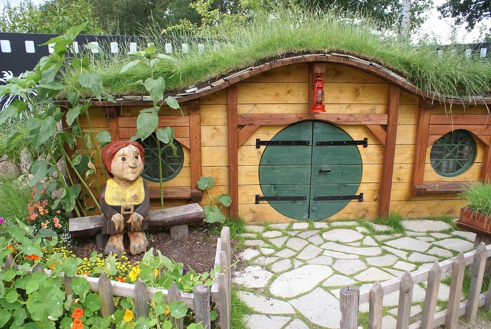 Hobbit Haus hobbit haus herr der ringe kostenloses foto auf pixabay