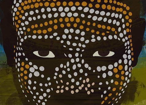 Erbore, African, Man, Depiction, Graphic