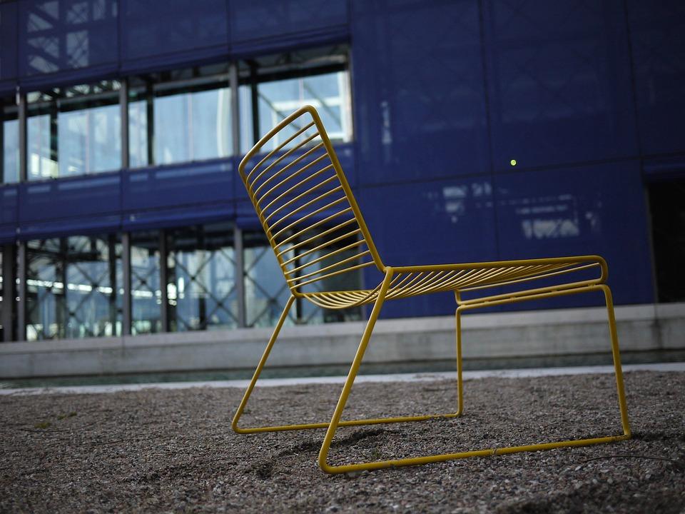 Stuhl Gelb Blau Kostenloses Foto Auf Pixabay