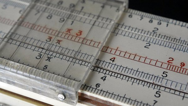 Slide Rule, Slider, Scale