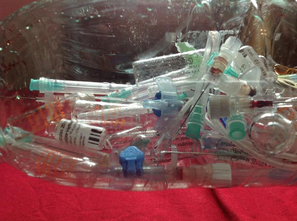 Syringes, Injection, Medical Waste, Blood, Syringe