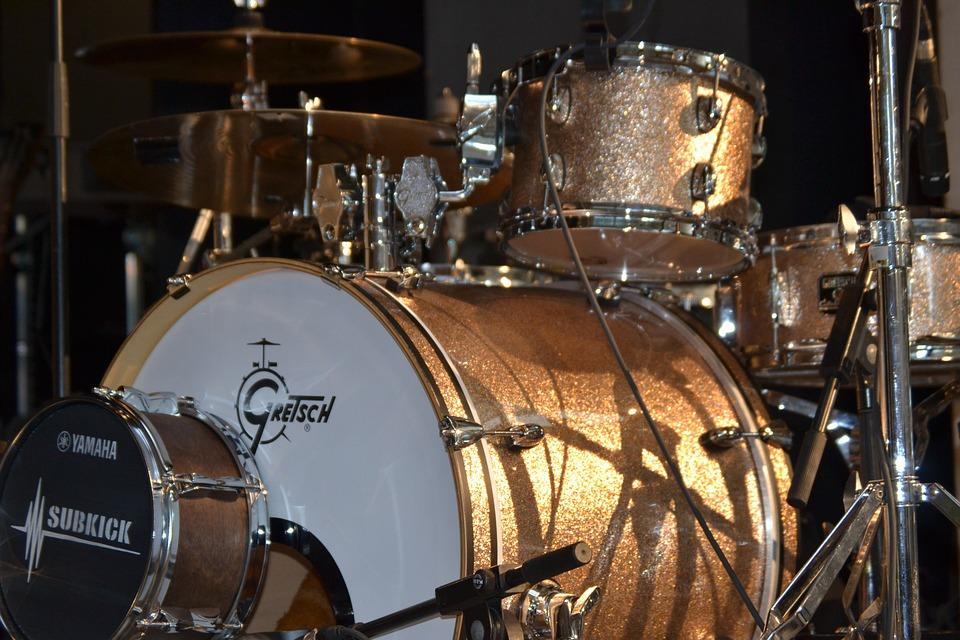 Drums Band Jazz Free Photo On Pixabay