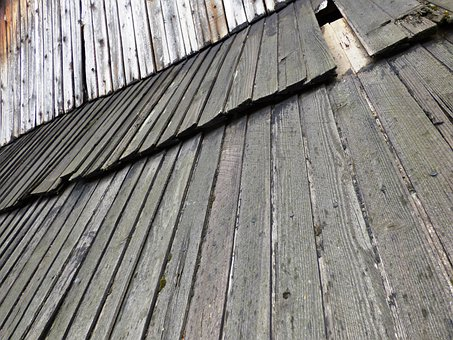 The Roof Of The, Boards, Cottage