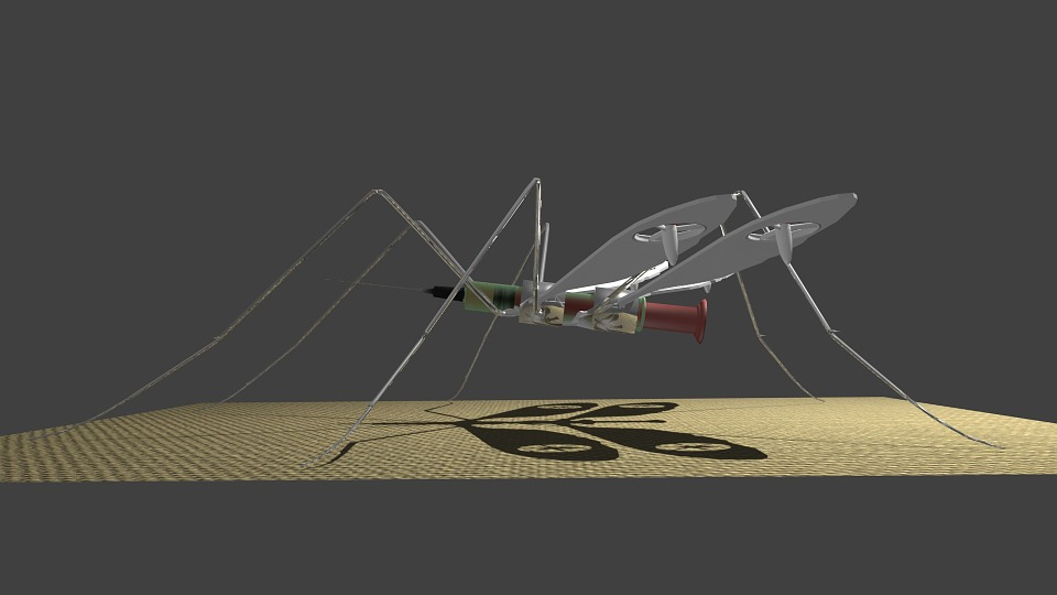 Free Illustration Drone Medical Mosquito