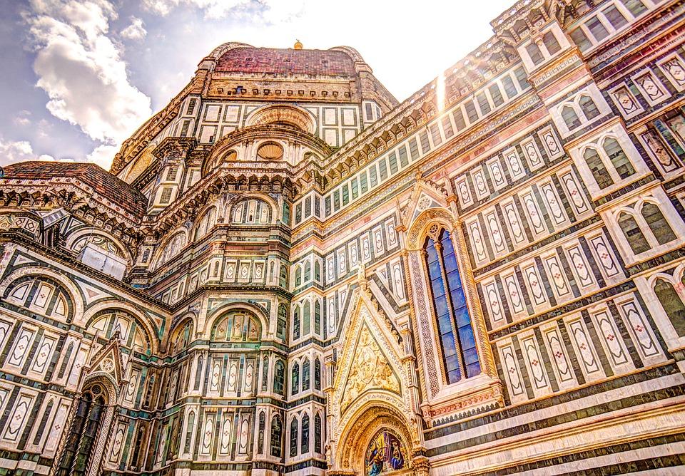 Dom, Florenz, Kuppel, Italien, Kirche, Außerhalb