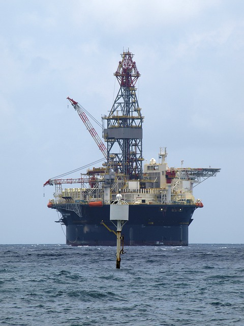 Free Photo Oil Rig Technology Sea Ocean Free Image
