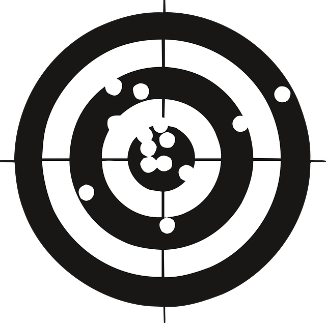 Free vector graphic: Target, Crosshair, Bullet Openings ...