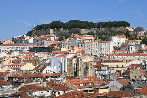 Curiosidades de Lisboa, Ciuadad de las siete colinas, Castillo de San Jorge