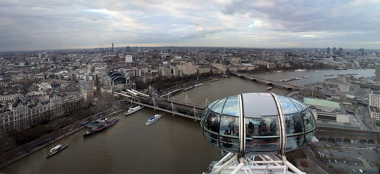 Londres, Vista Panorámica desde El London Eye