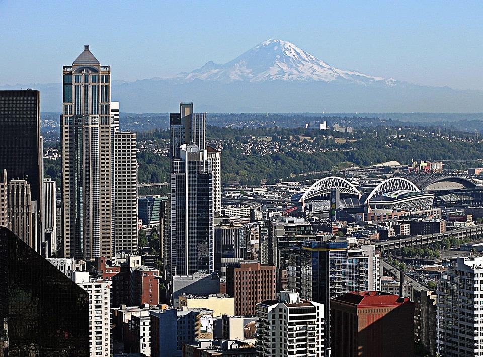 Free photo Seattle Mount Rainier Free