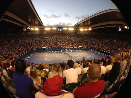 Tennis, Rod Laver Arena, Australia Open