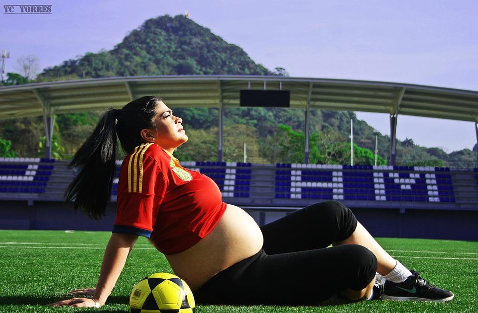 Embarazo, Futbol, Estadio Maracana, Fútbol, Deportes