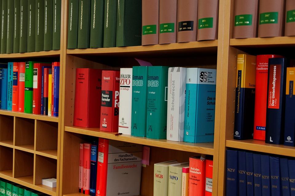 Boekenkast Advocatenkantoor · Gratis foto op Pixabay