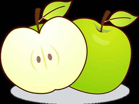 Apple, Malus, Kernobstgewaechs, Frukt