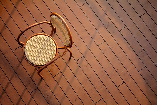 Chair, Relax, Parquet, Wood Panels, Wood