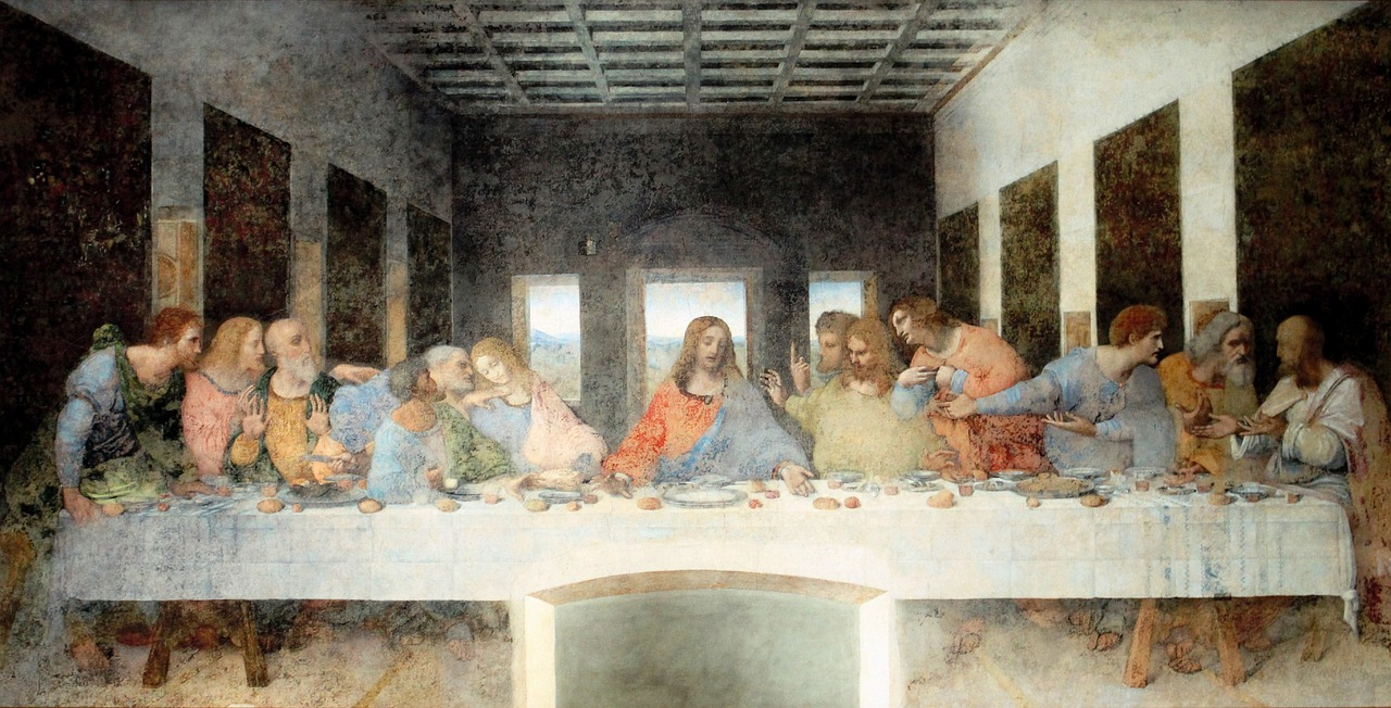 Painting Last Supper Artwork - Free photo on Pixabay