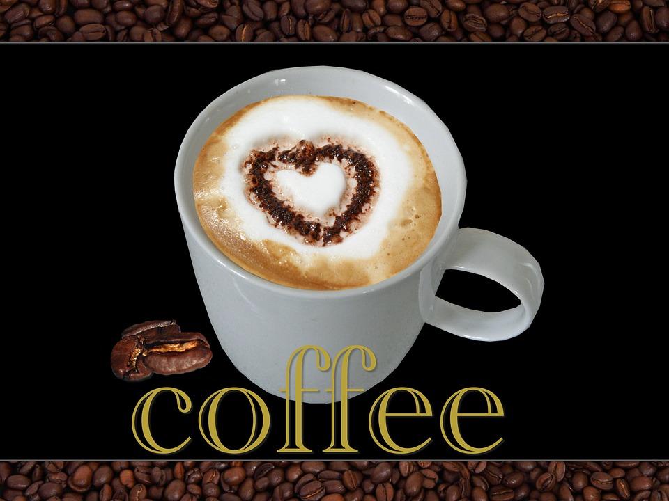 abbastanza Foto gratis: Caffè, Cuore, Chicchi Di Caffè - Immagine gratis su  SJ72