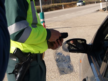 Test Breathalyzer Civil Guard Breathalyzer
