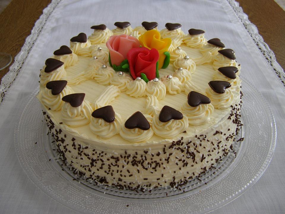 Kuchen Geburtstag Suss Kostenloses Foto Auf Pixabay