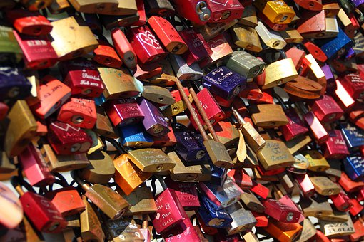 Padlocks, Completed, Castles, Love