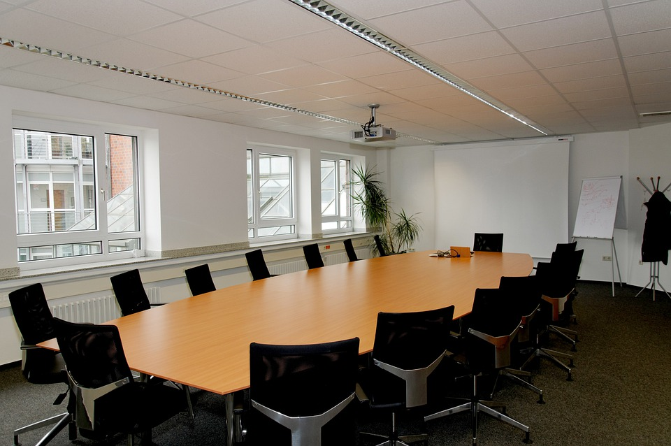 Free photo conference room table chairs free image on for Table design 10 personnes