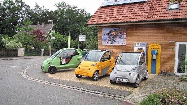 Elektroauto, Fahrzeuge, Kleinwagen, Auto