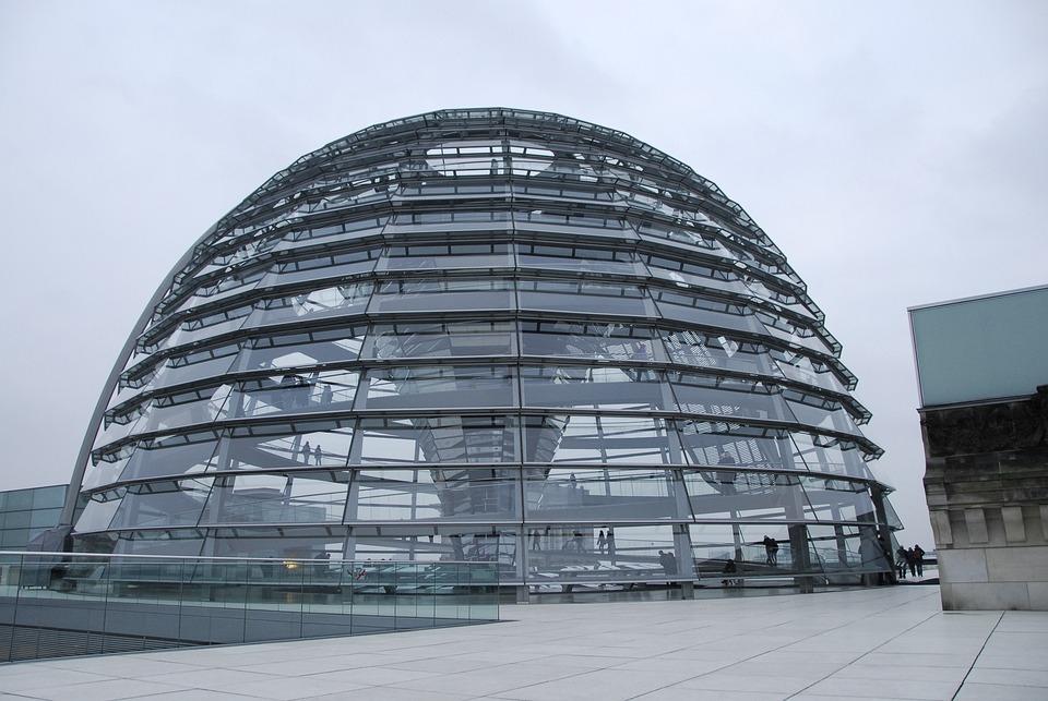 Kostenloses foto kuppel glas architektur moderne for Moderne bilder glas