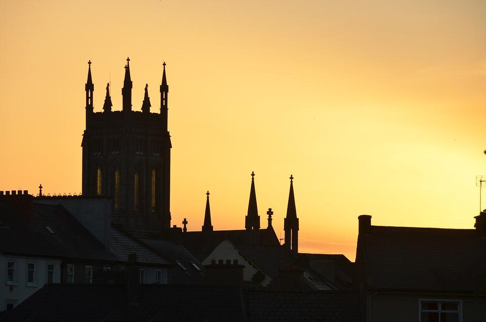 Kilkenny, Ireland, Castle, Abbey, Historic, Heritage