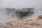 waterfall, churning, tumultuous