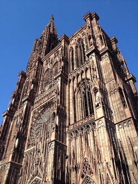 Mnster Strasbourg Eglise La Photo Gratuite Sur Pixabay