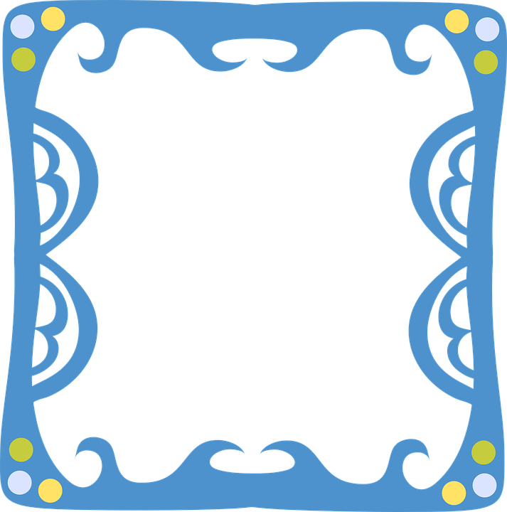 Funky Frame Ornate · Free vector graphic on Pixabay