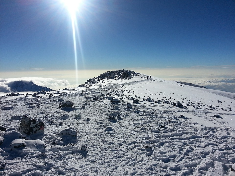 Mt Kilimanjaro Snow - Hiking and Trekking in East Africa