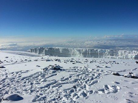 Kilimanjaro, Mount, Snow, Snowclad