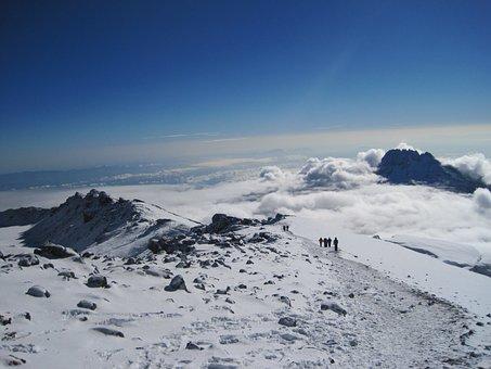 Kilimanjaro, Mount, Volcano, Volcanic