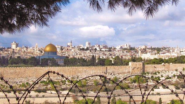 Jerusalem, Israel, Dome Of The Rock