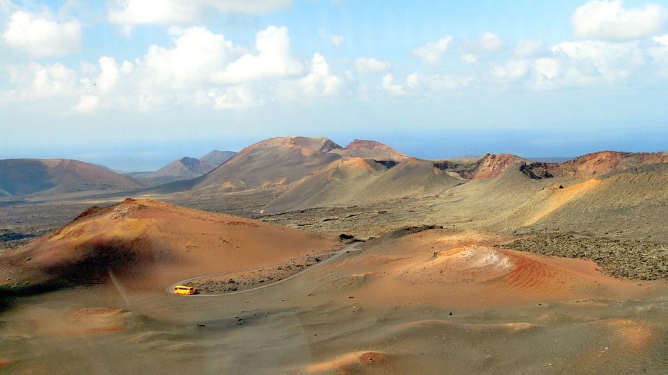 Foto gratis: Lanzarote, Timanfaya, Volcanes - Imagen