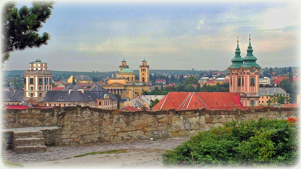 Hungary, Eger, Castle, Church