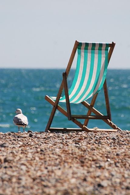 Gratis Foto Strandstoel Kust Zee Vakantie Gratis