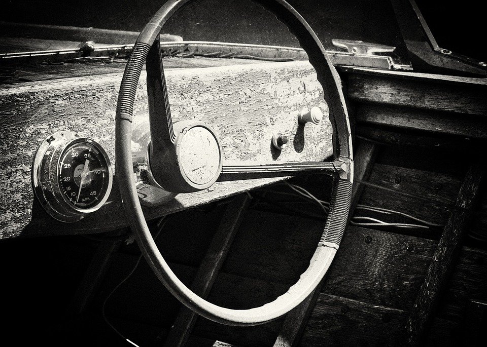 Old Boat Wooden Steering Wheel Free Photo On Pixabay