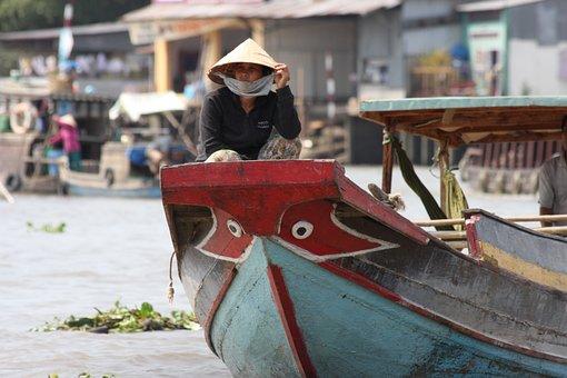 Vietnam, Mekong River, Mekong Delta