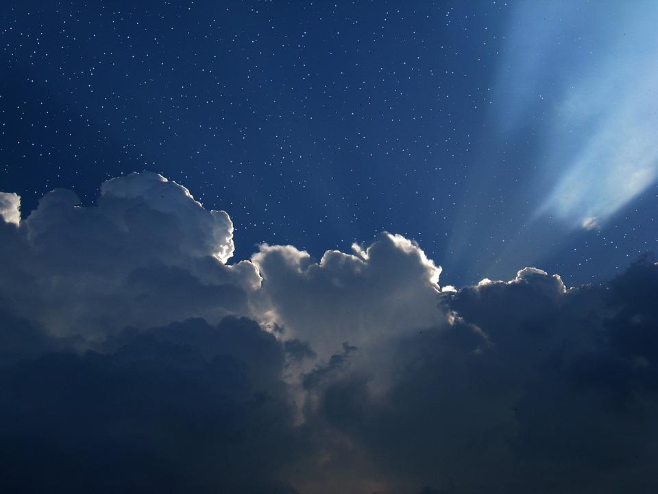 Star, Univers, Espace, Nuages, Cumulus
