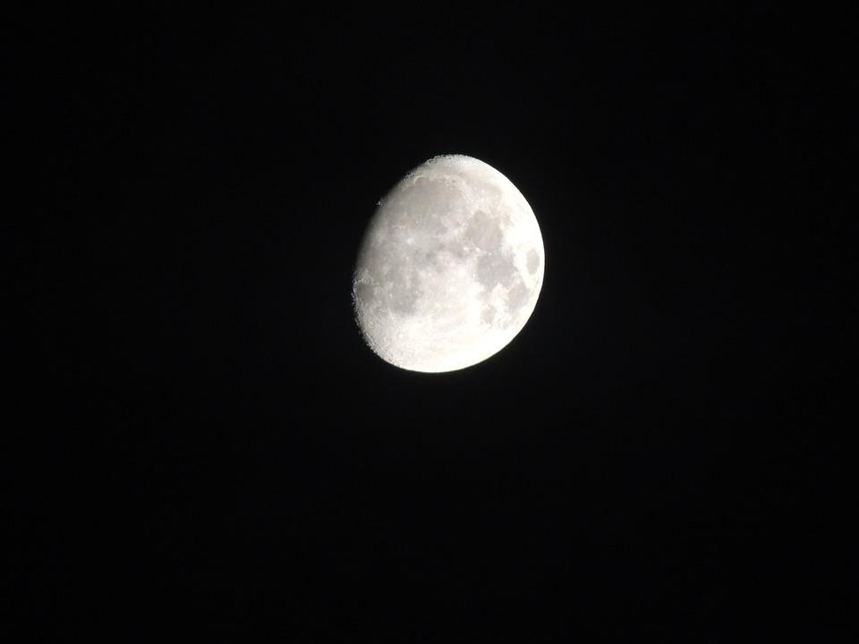 Luna Espacio Noche Cuarto - Foto gratis en Pixabay