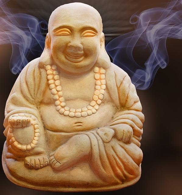 buddha figure smoke  u00b7 free photo on pixabay