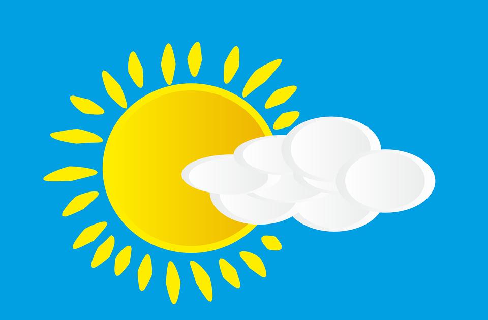 Zon, Wolk, Hemel, Zonnestralen, Zonlicht, Dag