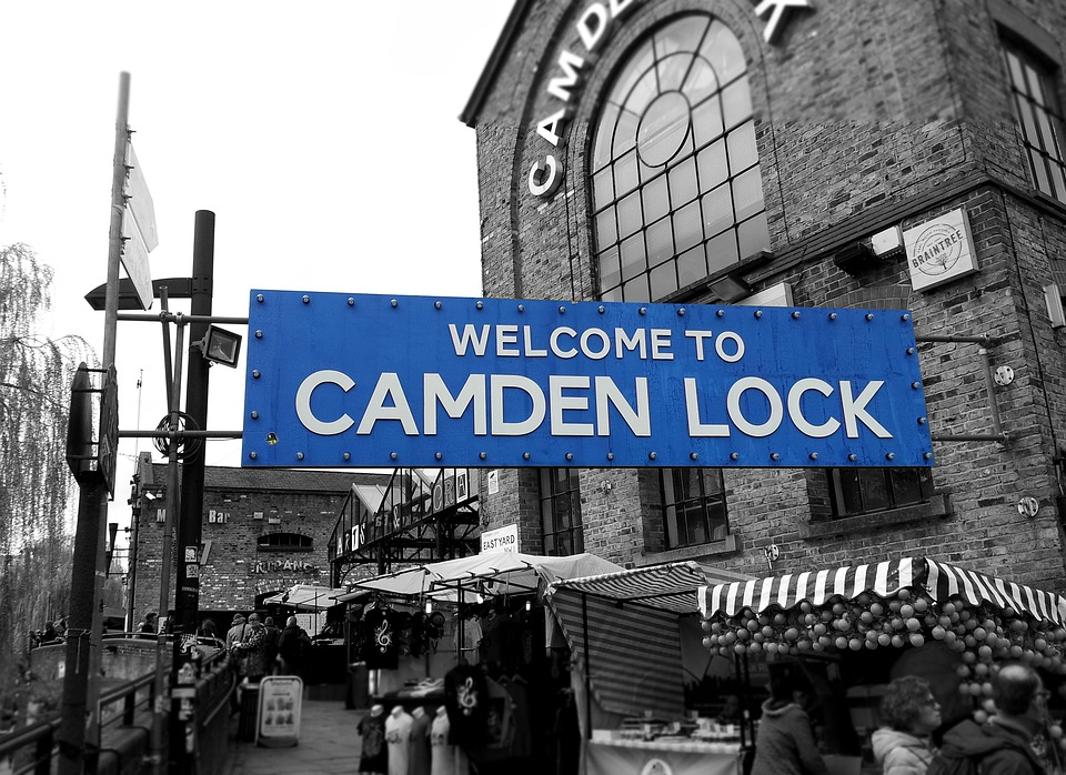 London, Camden, Briton, City, Road, Market, England