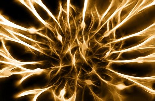 Nerves, Cells, Dendrites Sepia