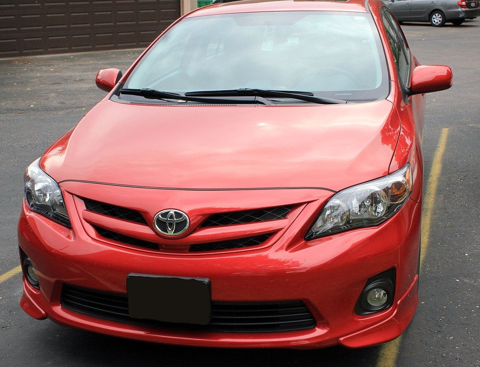 Toyota, Corolla, Red, Automobiles, Car, Automobile, best car brand 2020